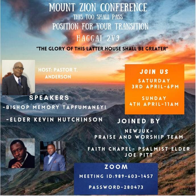 Mount Zion Apostolic Church